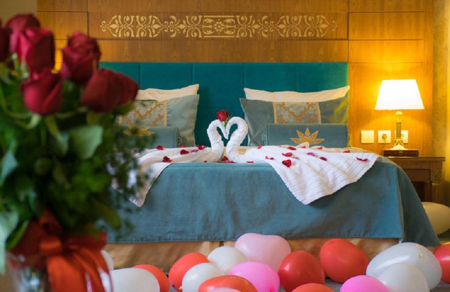 سوئیت ماه عسل هتل زندیه - رمانتیک ترین هتل های ایران