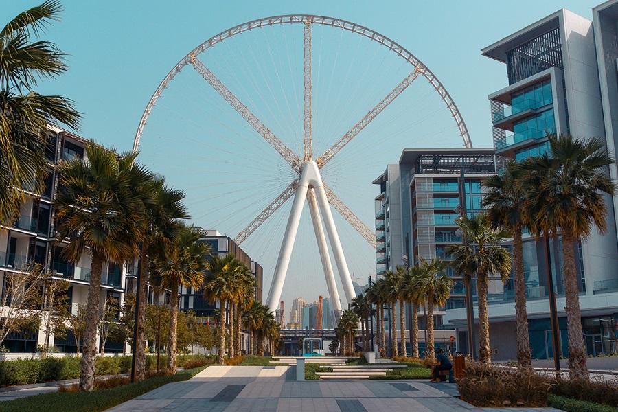 دسترسی به چرخ و فلک دوبی